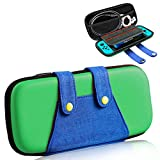 RQINW Étui Nintendo Switch [Étui de Protection Complet] [Large Storage] Étui de Transport pour commutateur, Sac de Transport pour Sac de Transport pour Nintendo Switch-Green