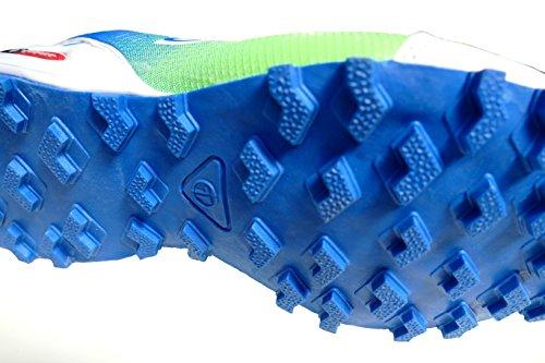 GIBRA® Herren Sportschuhe, sehr leicht und bequem, weiß/blau/neongrün, Gr. 41-46 weiß/blau/neongrün