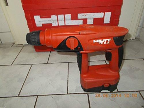 Preisvergleich Produktbild HILTI TE 2A Akkuschlagschrauber/Bohrhammer mit AKKU + Koffer, geprüft, MUSTERSTÜCK