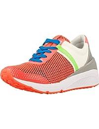 Calzado deportivo para mujer, color Rojo , marca VERSACE JEANS, modelo Calzado Deportivo Para Mujer VERSACE JEANS E0VPBSF1 Rojo