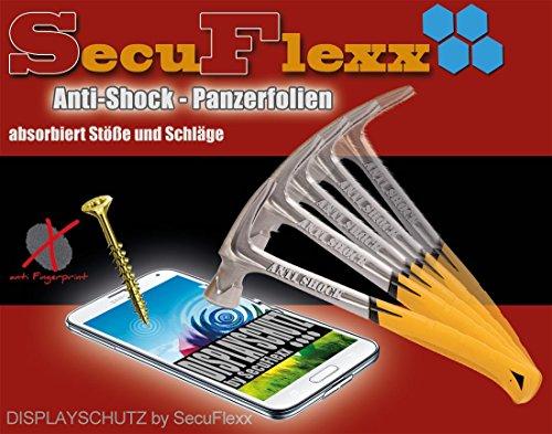 2x Anti- Shock Panzerfolie KRISTALLKLAR für ZTE Grand Memo