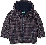 United Colors of Benetton Jacket, Giacca Bambino, Quadri-Blu, 116 (Taglia Produttore: Small)