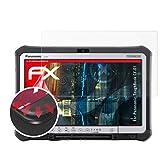 atFolix Schutzfolie passend für Panasonic ToughBook CF-D1 Folie, entspiegelnde & Flexible FX Bildschirmschutzfolie (2X)