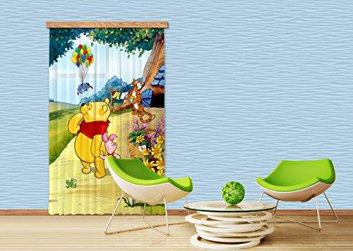 AG Design Tenda/Tenda FCC L 4111cameretta Disney Winnie The Pooh