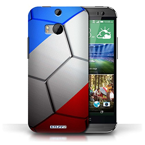 Kobalt® Imprimé Etui / Coque pour HTC One/1 M8 / Brésil/Brésilien conception / Série Nations de Football France/Français