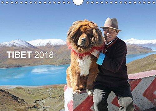 Tibet 2018 (Wandkalender 2018 DIN A4 quer): Reise nach Tibet (Monatskalender, 14 Seiten) (CALVENDO Orte) [Kalender] [Jan 17, 2017] Antje Neßler, Fotodesign