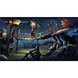 Monkey Island 2 (25inch x 14inch / 62cm x 35cm) Silk Print Poster - Seide Plakat - 4FB5C9