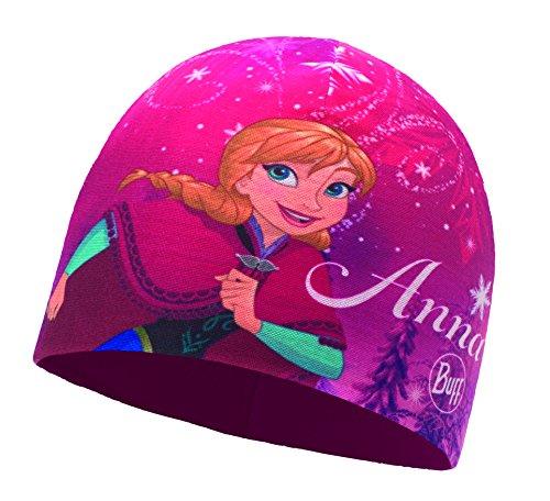 Buff Kinder Microfiber und Polar Hat Frozen Mütze, Child Anna Mardi Grape, One Size