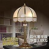 Bâtiment moderne en verre et laiton lampe bride