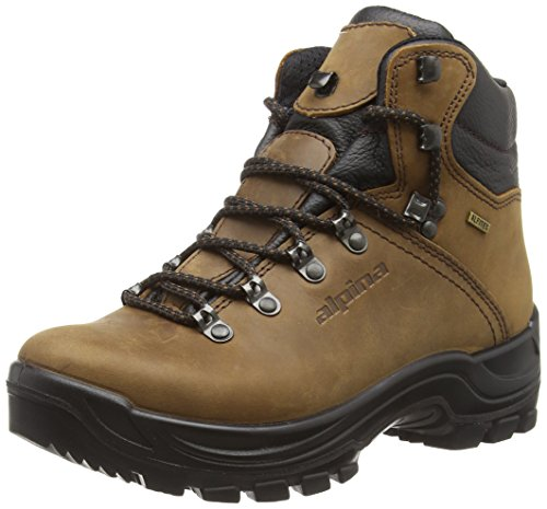 Alpina 680203, Chaussures de Randonnée Hautes Mixte Adulte