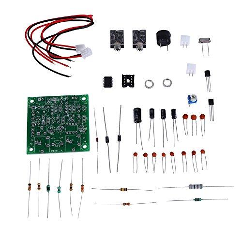 Transceiver Kit für Pixie, Kurzwellen Sender Empfänger Version 4.1 7.023-7.026MHz Ham Radio Set für Pixie mit Summer