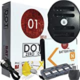 DOT-01 Brand 1200 MAh Replacement Sony NP-BN1 Battery And Dual Slot USB Charger For Sony DSC-W830 Digital Camera And Sony BN1 Accessory Bundle