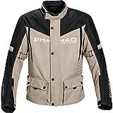 Pharao Motorradjacke Motorradschutzjacke Reise Textiljacke 3.0 beige M