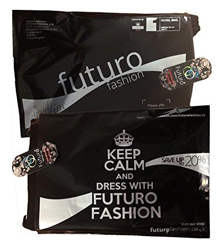 Futuro Fashion été Femmes robe Mini avec matelassé Manche Courte Col Carré Moulante Tunique Unique Tailles 8-14 UK 0186 Sarcelle