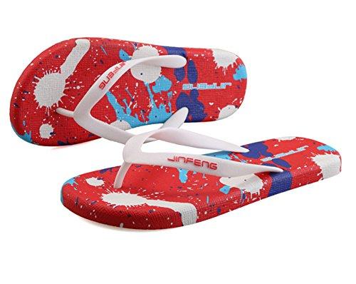 Scothen Sommer Sandale,Unisex Herren Jungen Clog Breathable Mesh Sommer Sandalen Strand Aqua,Walking,Anti-Rutsch Hausschuhe Garden Clogs Shoes Mens Garden Shoes Unisex Adult Sandals Slippers Slip Rot