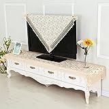 QIANG AF Tv-schrank stoff lace tuch,tabelle rechteckig modern minimalistisch haushalt wohnzimmer staub abdeckung-A 150*200cm(59x79inch)