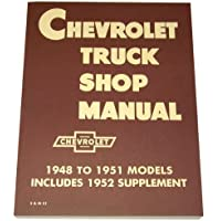 1948 1949 1950 1951 1952 1953 Chevy Truck Shop Manual by General Motors