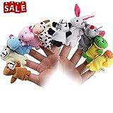 Lumiparty Marionetas Dedo Juguetes Bebe Animales Juguetes para la Educación