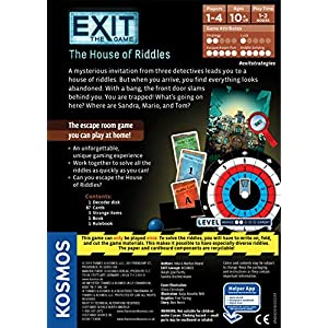 Exit: House of Riddles Board Game