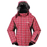 Cox Swain TITANIUM Damen 2-Lagen Outdoor Multifunktionsjacke Lydia - 15.000 mm Wassersäule, Colour: Red, Size: XL