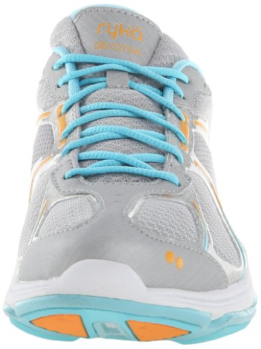 Ryka Devotion Synthétique Chaussure de Course Gry-Blu-Org