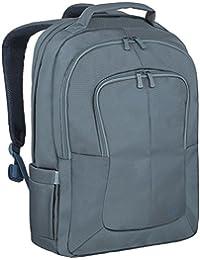 """Rivacase """"8460 Aquamarine"""" business Notebook mochila con ruedas soporte y anti-shock acolchado para ordenadores portátiles de hasta 43.18 cm & Tablets hasta 25.65 cm, colour azul marino azul 17 pulgadas"""