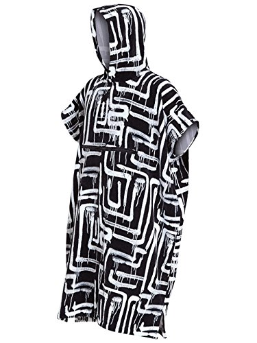 Billabong 2018/19 Hooded Poncho Black Print L4BR11
