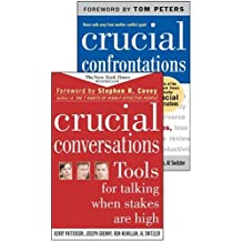 Crucial Conversations and Crucial Confrontations Value Pack by Kerry Patterson (2005-08-01)