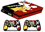 Skin Ps4 SLIM - POKEMON - limited edition DECAL COVER Schutzhüllen Faceplates playstation 4 SONY BUNDLE