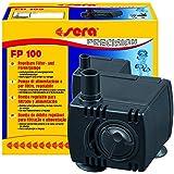 sera 30593 Filter- und Förderpumpe FP 100 regelbar für Süß- und Meerwasser (Qmax: 120 l/h Hmax: 0,30 m bei 1,5 Watt mit EU-Stecker und 8 mm Schlachstutzen sowie 1,8m Netzkabel)