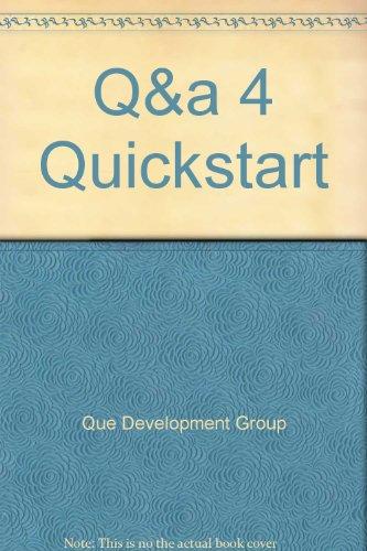 Q & A 4 QuickStart por Que Development Group