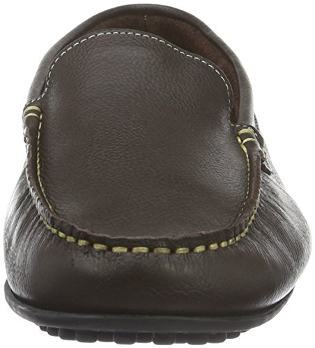 Brax Herren Slipper, Mocassins (loafers) homme Marron - Braun (043 tdm)
