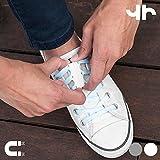 Hasëndad tiehard fermoirs magnétiques pour Chaussures Unisexe Adulte Taille Unique Blanc