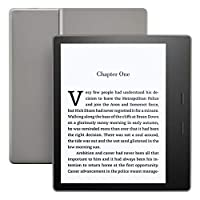 """Kindle Oasis (9th Gen) - 7"""" High Resolution Display (300 ppi), Waterproof, 32 GB, Wi-Fi, Graphite"""