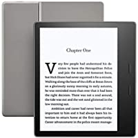 "Kindle Oasis E-reader - Graphite, Waterproof, 7"" High-Resolution Display (300 ppi), Built-In Audible, 32 GB Wi-Fi"