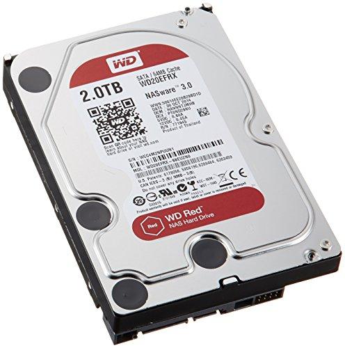 'Western Digital Netzwerk 2TB SATA 6Gb/s-Hard Drive (Serial ATA III, 2000GB, 8,89cm (3,5