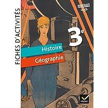 Fiches d'activités Histoire-Géographie 3e