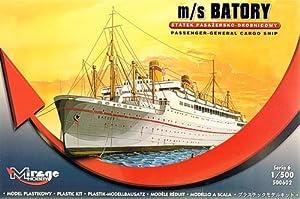 Mirage Hobby 500602-Maqueta de m/s batory Passenger de General Cargo Ship