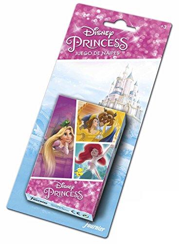 Disney Prinzessinnen Quiz - Disney Princess Kinder-Kartenspiel (Spielkarten Heraclio Fournier