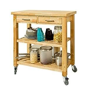 Sobuy carrello di servizio carrelli per cucina mensola for Carrelli da cucina amazon
