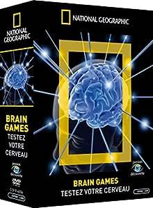 COFFRET 3 DVD BRAIN GAMES - TESTEZ VOTRE CERVEAU