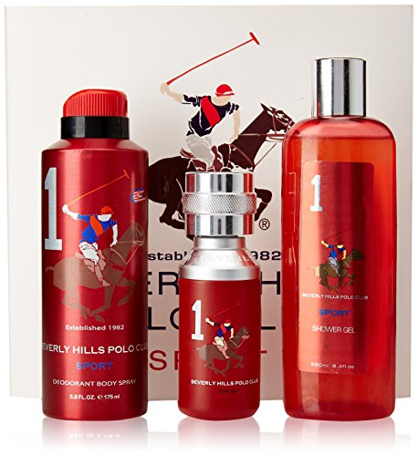 beverly hills polo club gift set 1 for men (eau de toilette, shower gel and deodorant) Beverly Hills Polo Club Gift Set 1 for Men (Eau De Toilette, shower gel and Deodorant) 51GofuI2j5L
