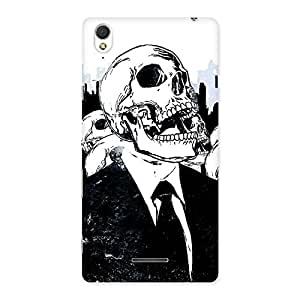 Skull Laugh Back Case Cover for Sony Xperia T3