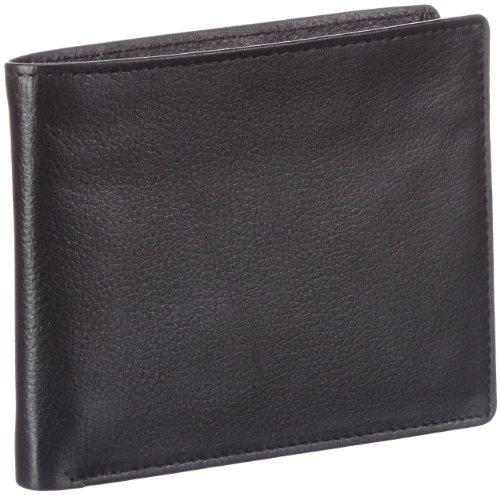 Bodenschatz Bodenschatz 8-480 BG 01 Unisex-Erwachsene Geldbörsen 12x10x2 cm (B x H x T) Schwarz (Black 01)