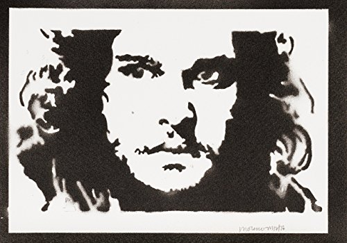 Jon Snow Game Of Thrones Handmade Sreet Art – Artwork – Poster