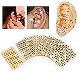 600 pezzi pressa per orecchio, agopuntura usa e getta, cerotto, agopuntura, agopuntura