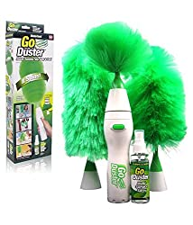 Motorized Electric Go Duster Wet and Dry Duster Set+free gift(eyeglass cleaner)as seen on images