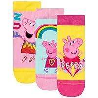Peppa Pig Girls Socks Pack of 3