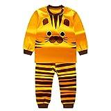 Qlan Enfants Filles Garçons Pyjamas Set Vêtements de nuit Vêtements de nuit Pyjamas Costume 0-4 ans
