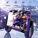 Tensay Mobile Game Controller Für PUBG 4in1 Gamepad Schießen Und Ziel Trigger Telefon Kühlung Ergonomie Controller Griff